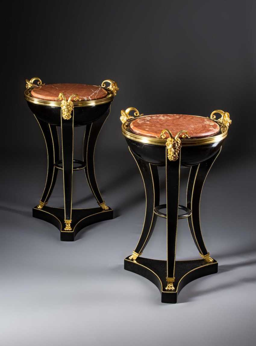 Satyrs - side table in the Empire style, - photo 1