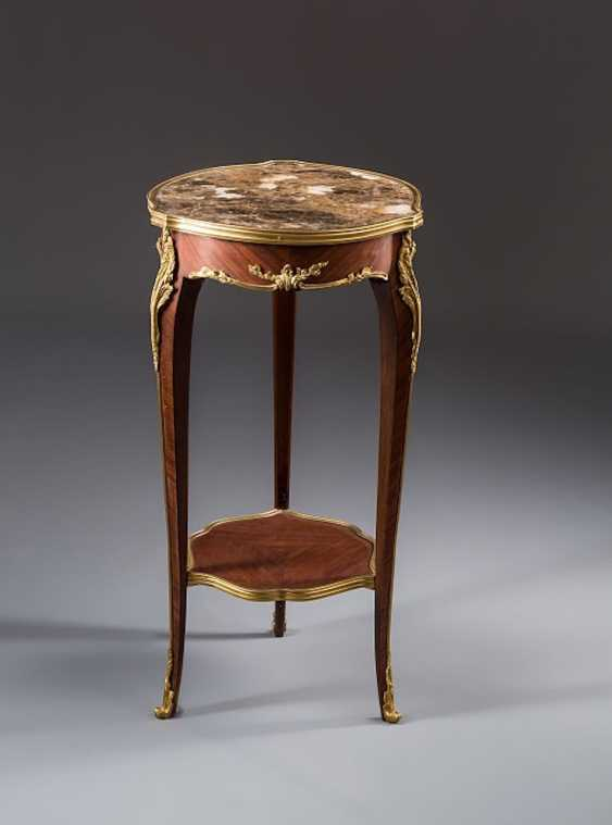 Side Table, Rose Wood - photo 1