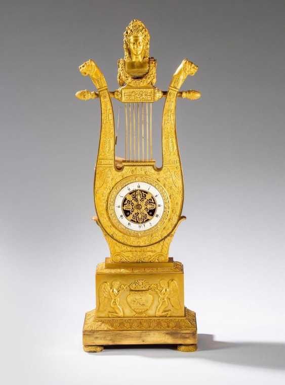 Empire pendulum clock France around 1810. - photo 1