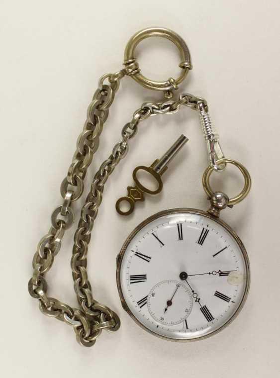 Silver Pocket Watch - photo 1