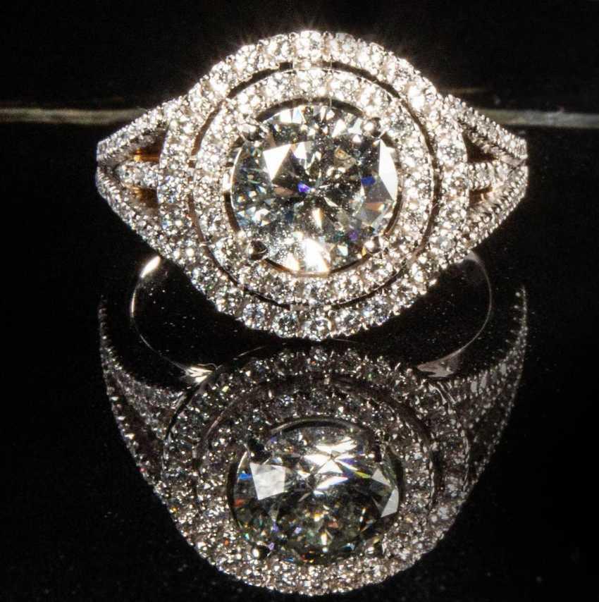 Fine Brilliant Ring, - photo 2