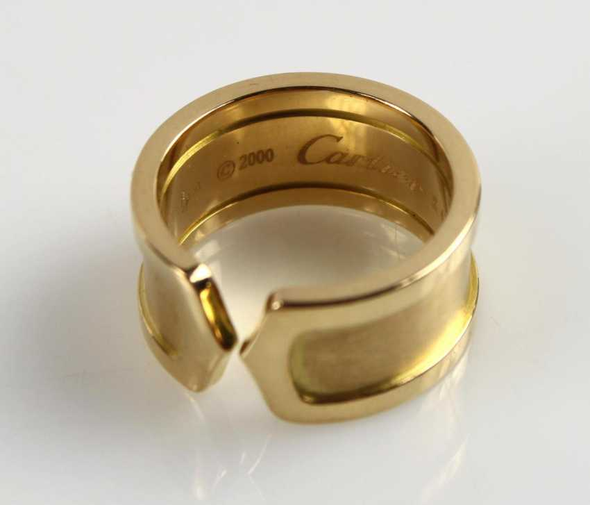 Cartier - Double C-Ring, - photo 2