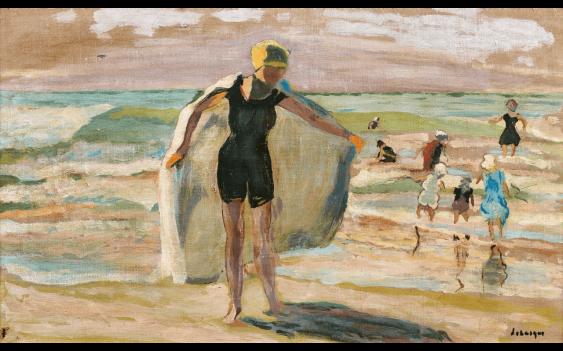 HENRI LEBASQUE (CHAMPIGNÉ 1865 - CANNET 1937)