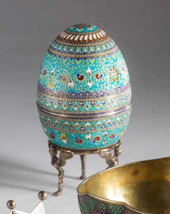 Easter egg on dreifüßigem, - photo 1