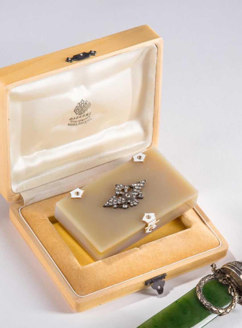 Small Nephrite Box, - photo 1