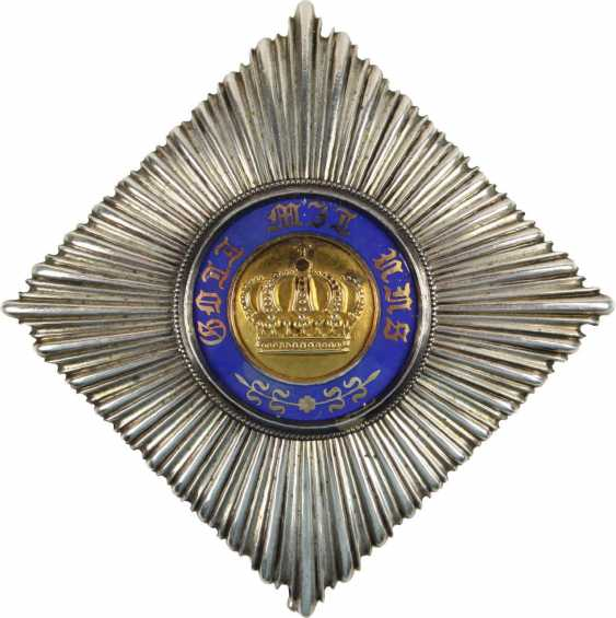 Königl. Prussian Crown Order, - photo 1