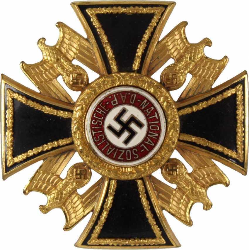 Golden cross of the German order, - photo 1