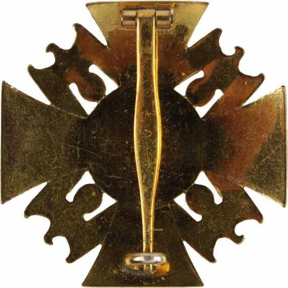 Golden cross of the German order, - photo 2