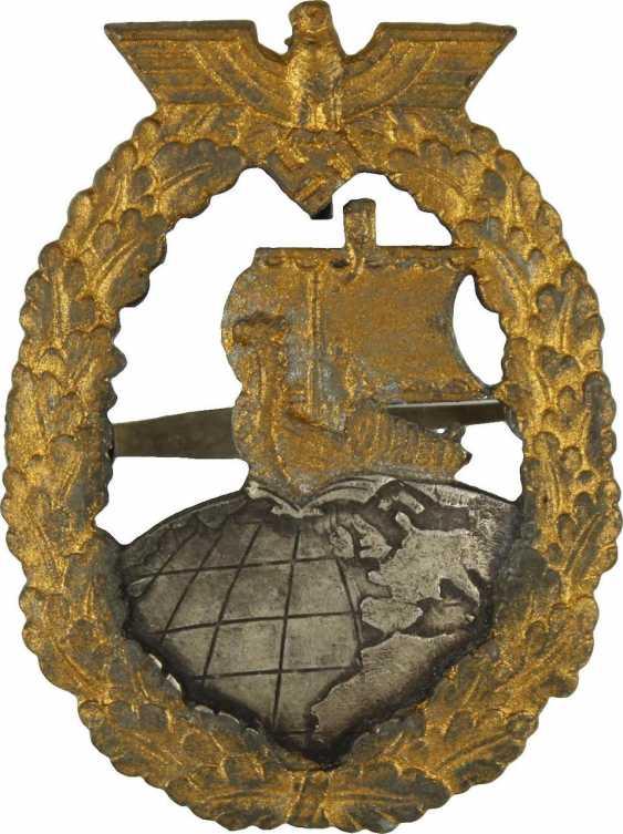 Auxiliary Cruiser War Badge,  - photo 1