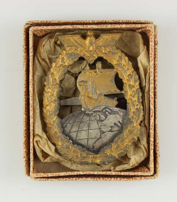 Auxiliary Cruiser War Badge,  - photo 3