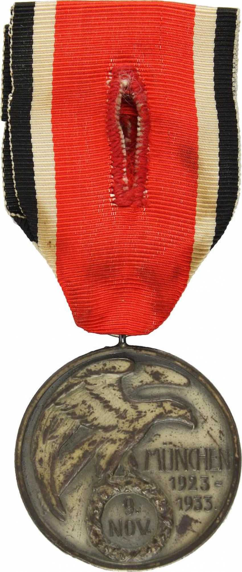 Badge of honour of 9. November, 1923, - photo 2
