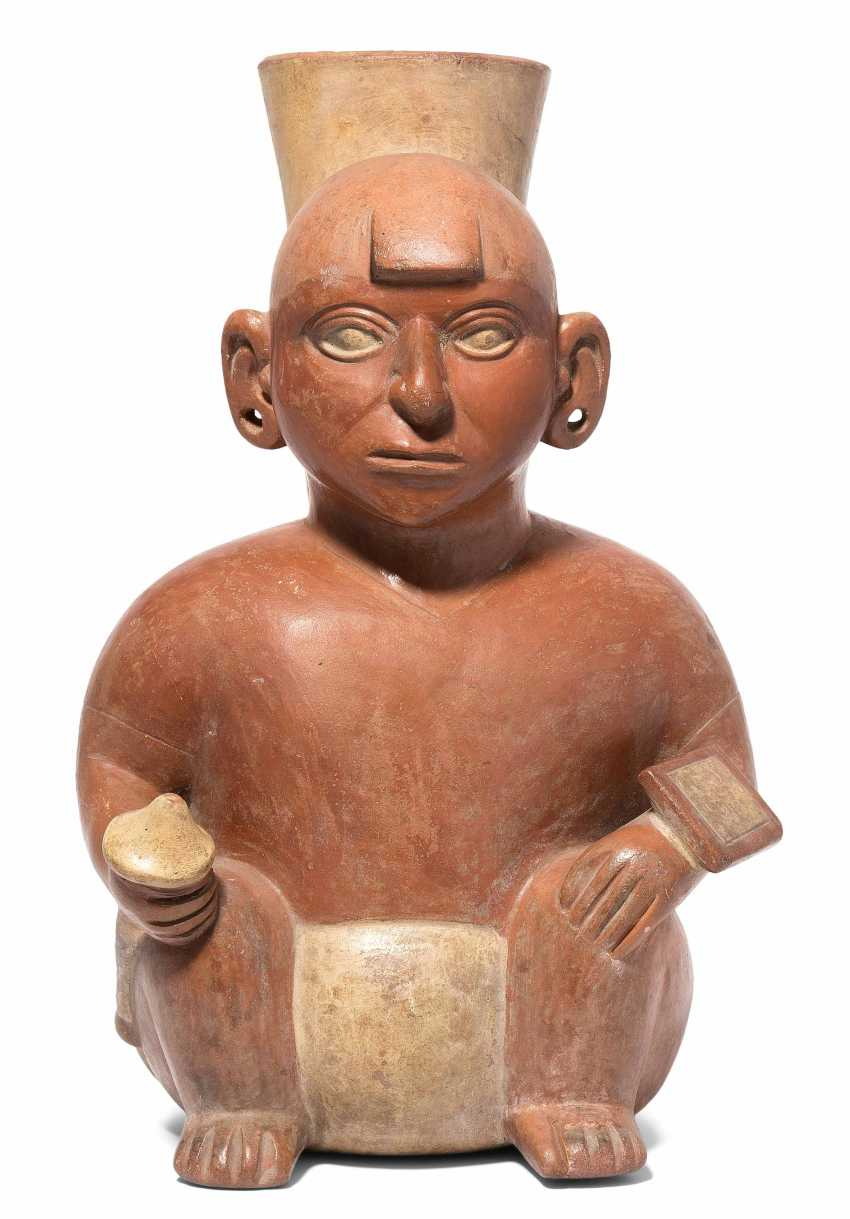 Vessel in the Form of a man - photo 1