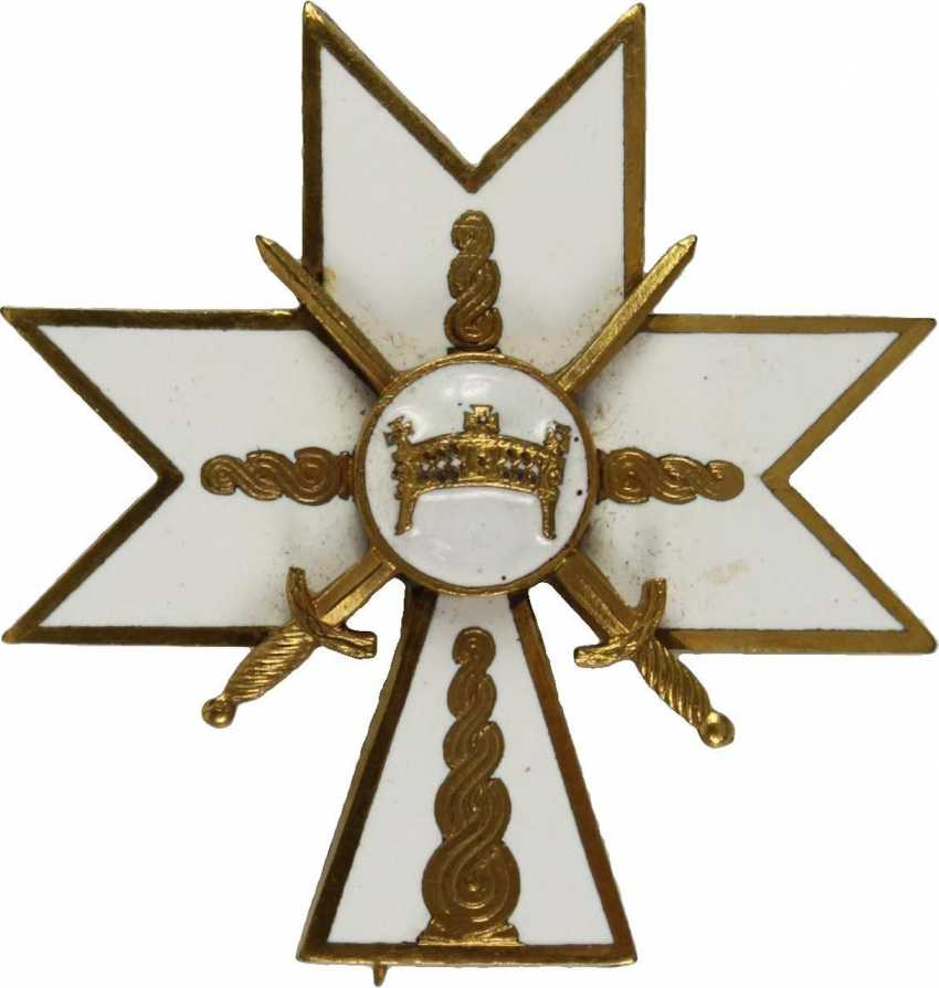 Order of the crown of king Zvonimir, - photo 2