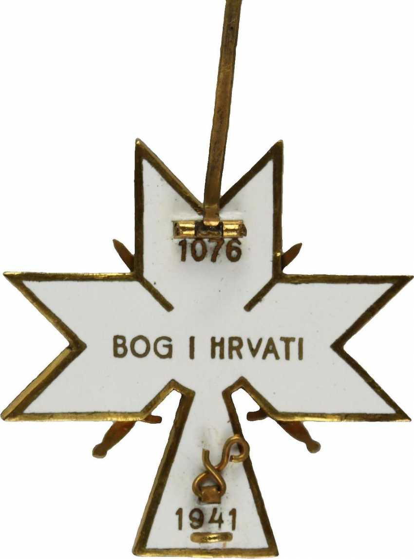 Order of the crown of king Zvonimir, - photo 3