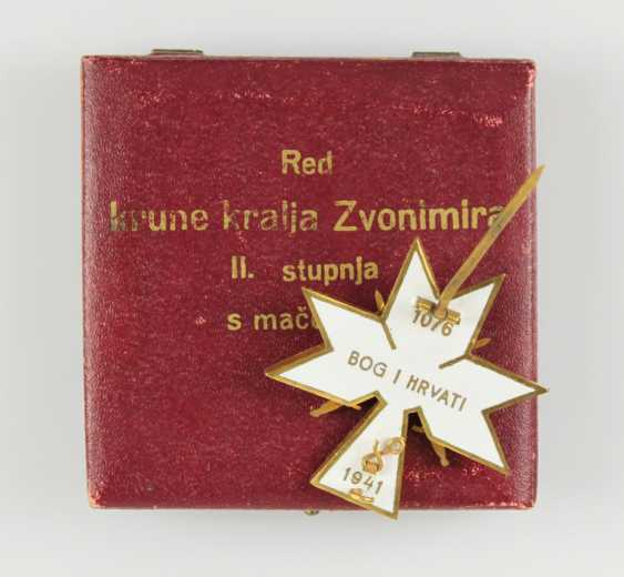 Order of the crown of king Zvonimir, - photo 5