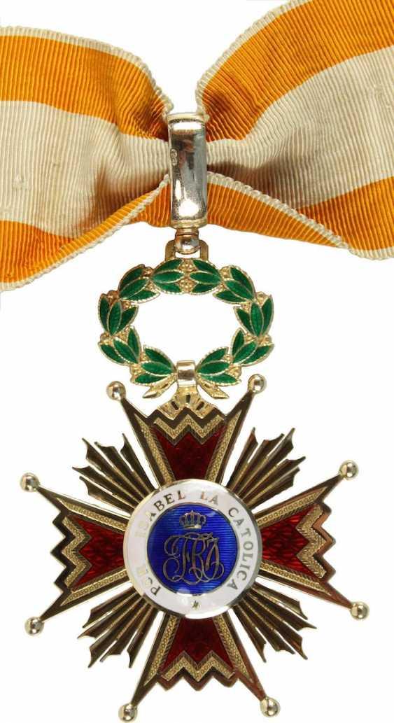 Order Of Isabella The Catholic, - photo 2