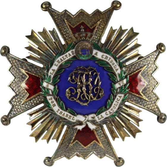 Order Of Isabella The Catholica, - photo 2
