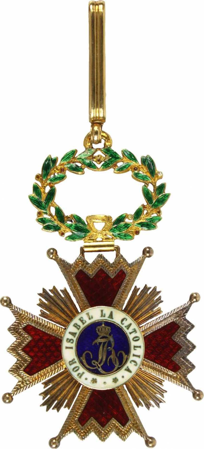 Order Of Isabella The Catholica, - photo 4