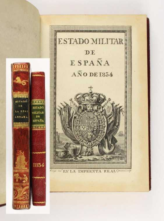 Military state of Spain Year 1834 - photo 1