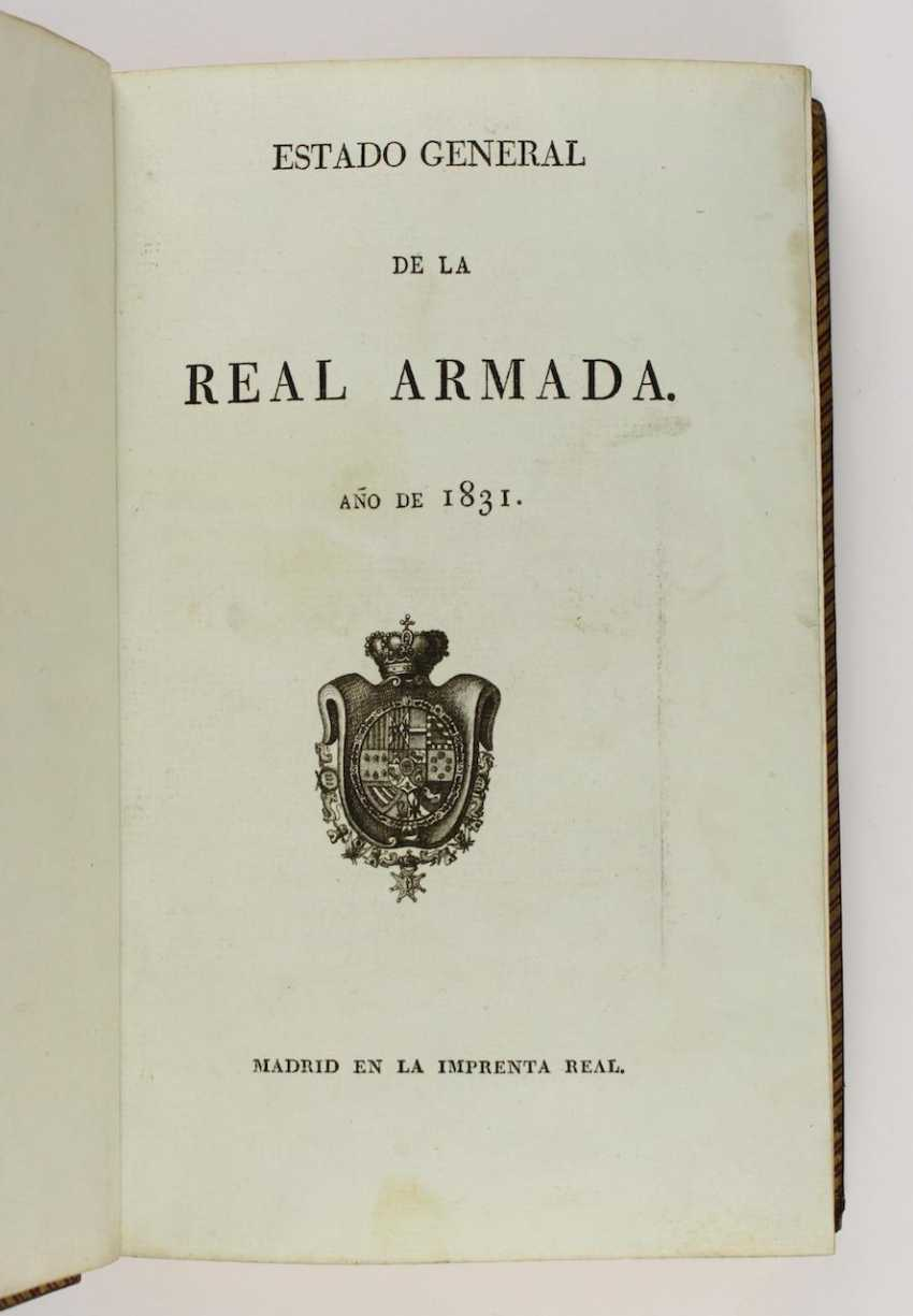 Military state of Spain Year 1834 - photo 2