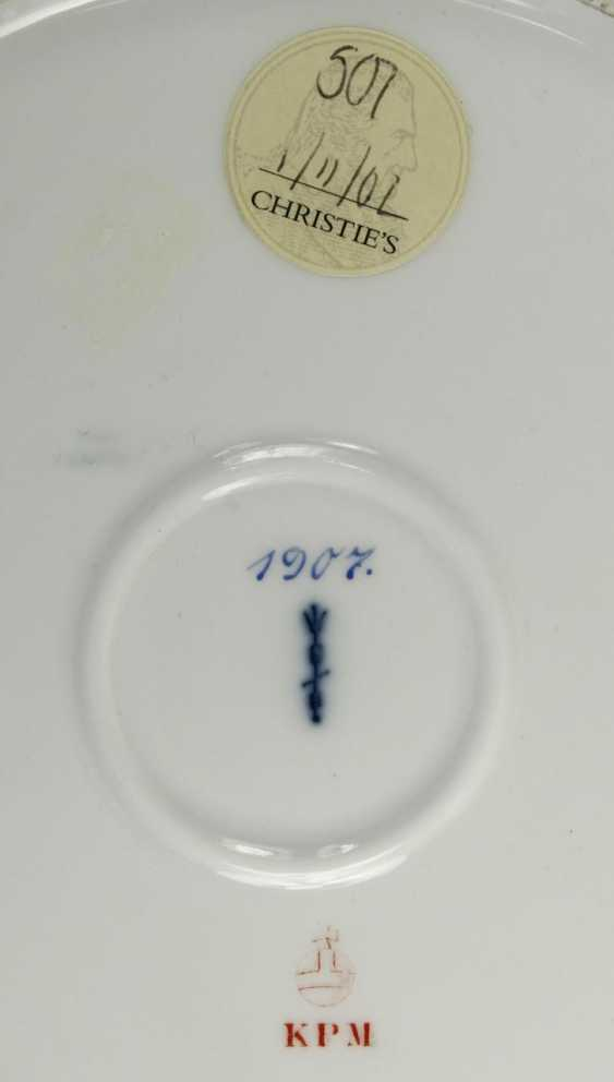 "Dinner plate, I. M. Yacht ""IDUNA"". - photo 2"