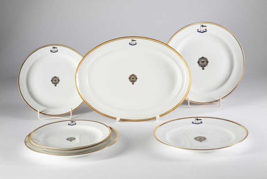 "Pair of plates, I. M. Yacht ""IDUNA"". - photo 1"