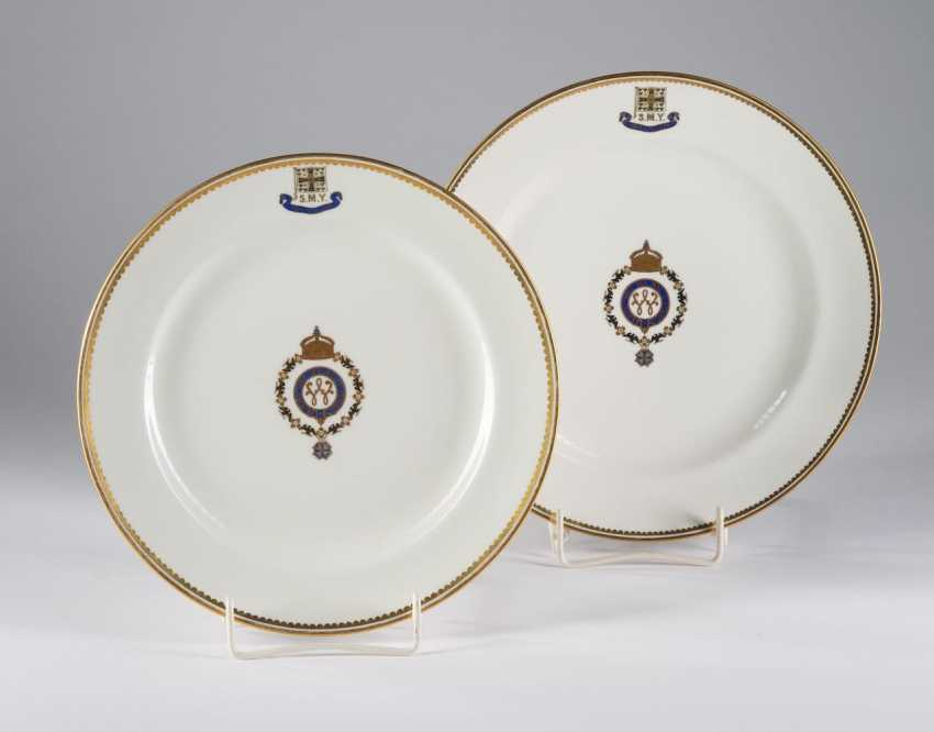"The dining plate of S. M. Yacht ""HOHENZOLLERN"". - photo 1"