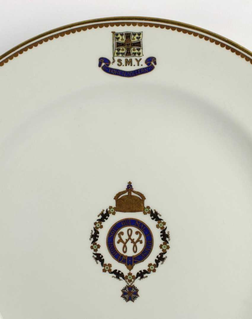 "The dining plate of S. M. Yacht ""HOHENZOLLERN"". - photo 3"