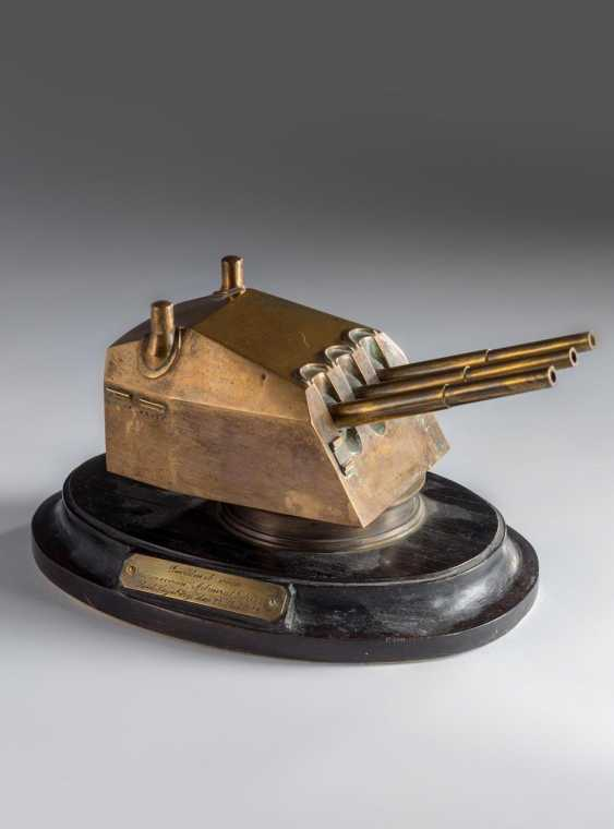 Officer gift - a model of a turret - photo 1