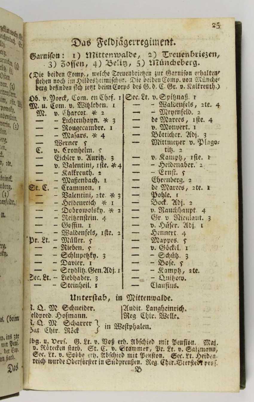 Ranking of the Königl. Prussian Army  - photo 2