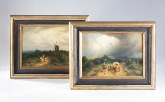 Christian Sell - Two Paintings  - photo 1