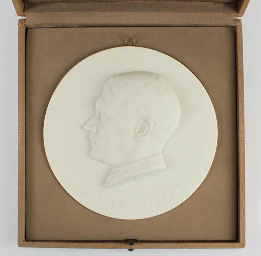 "Plaque ""Adolf Hitler"" - photo 2"