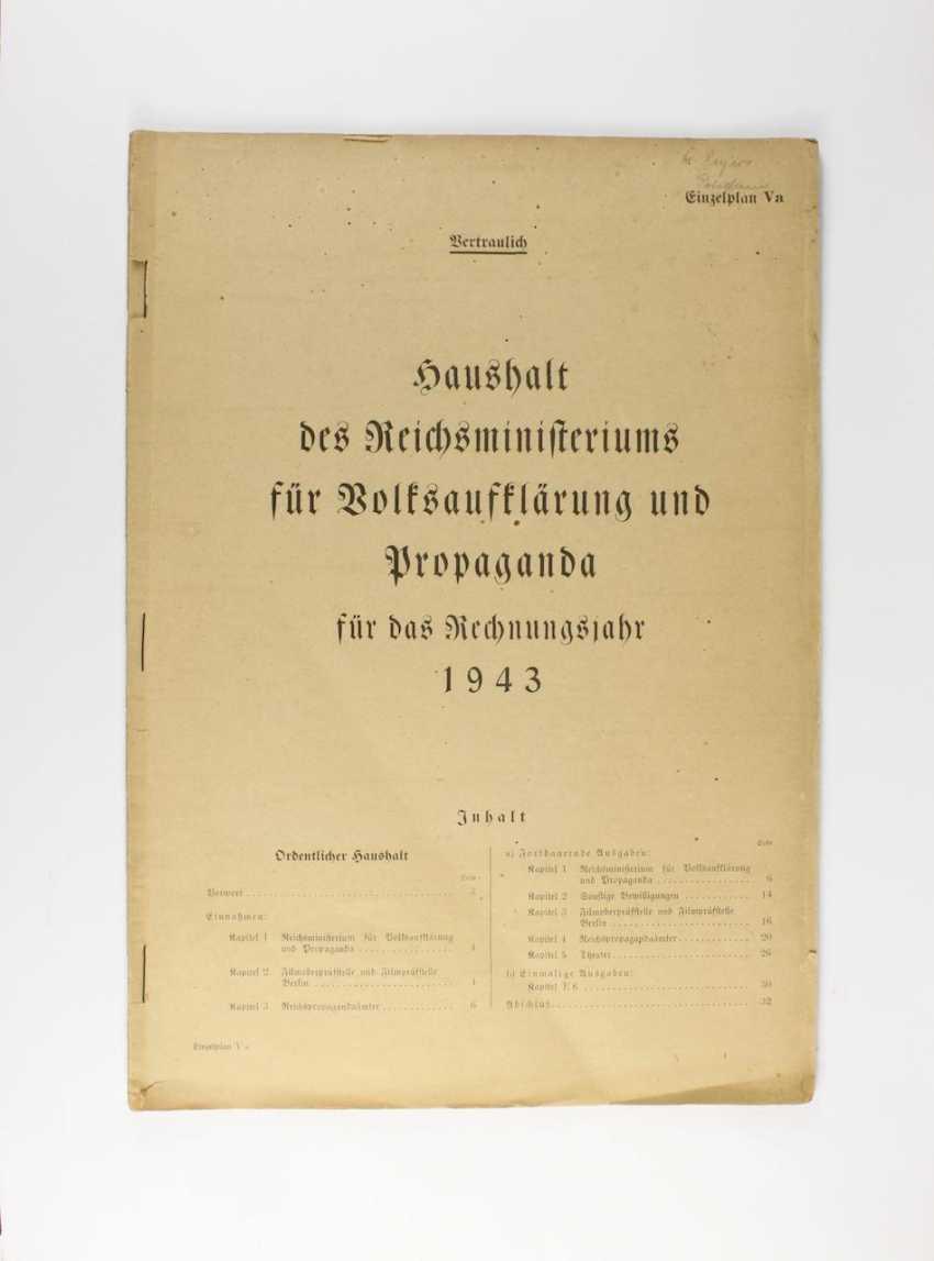 """Joseph Goebbels, """"Confidential"""", - photo 1"""