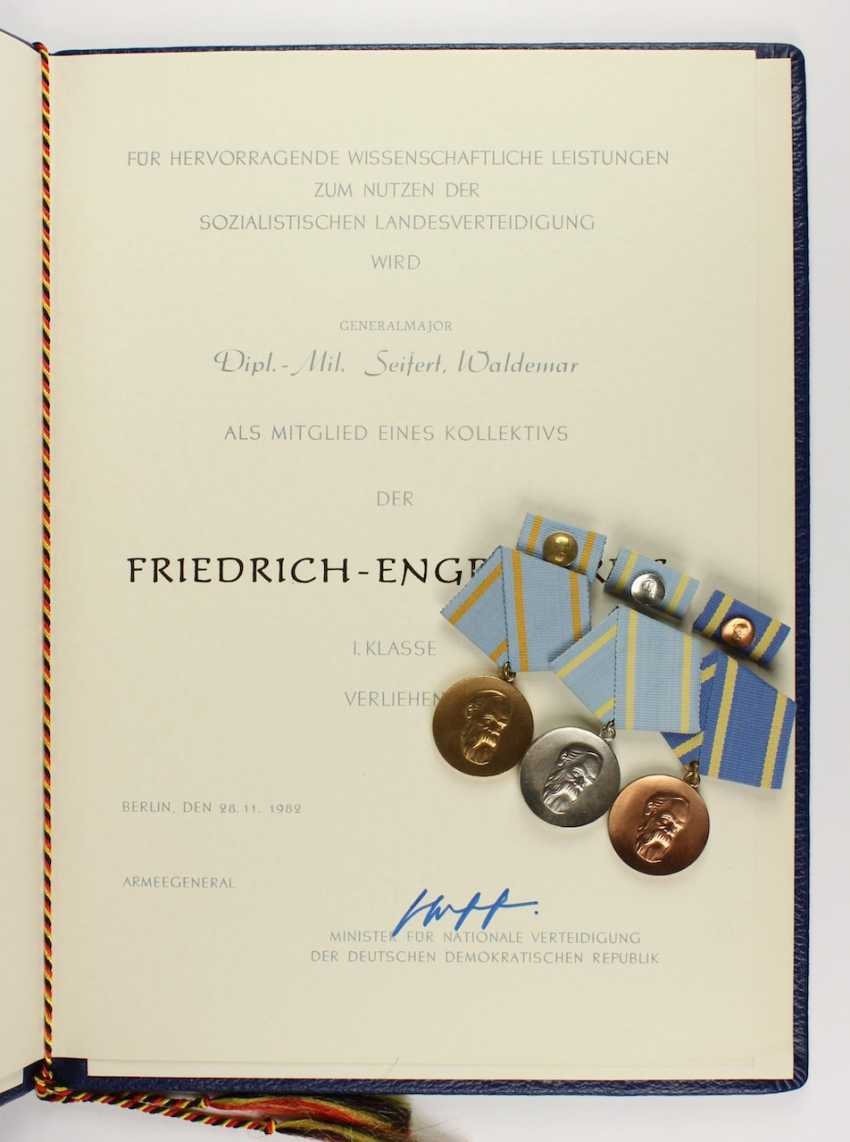Medals and award certificates - photo 1