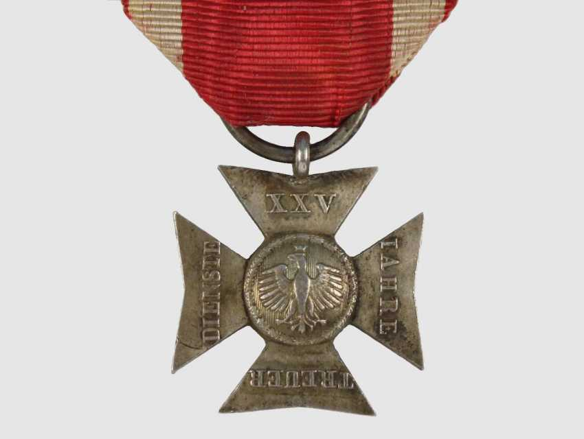 Officer's service award cross - photo 1