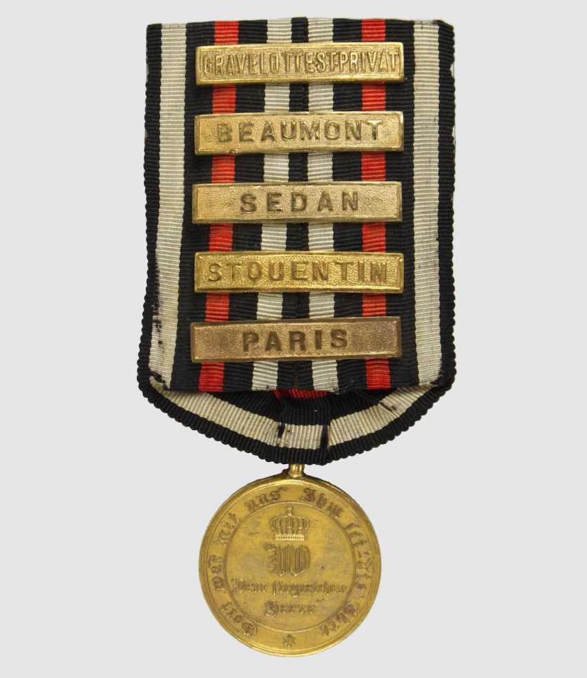 War medal 1870/71, - photo 1