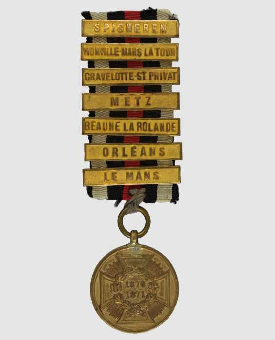 War medal 1870/71 - photo 1