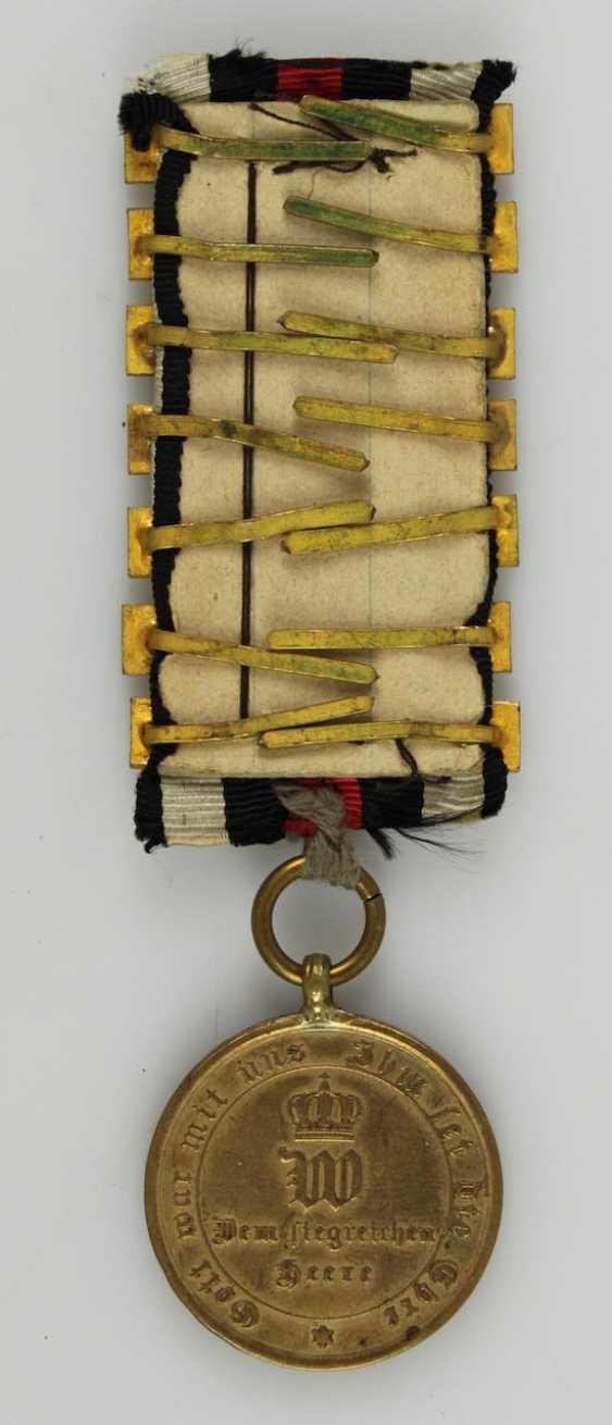 War medal 1870/71 - photo 2