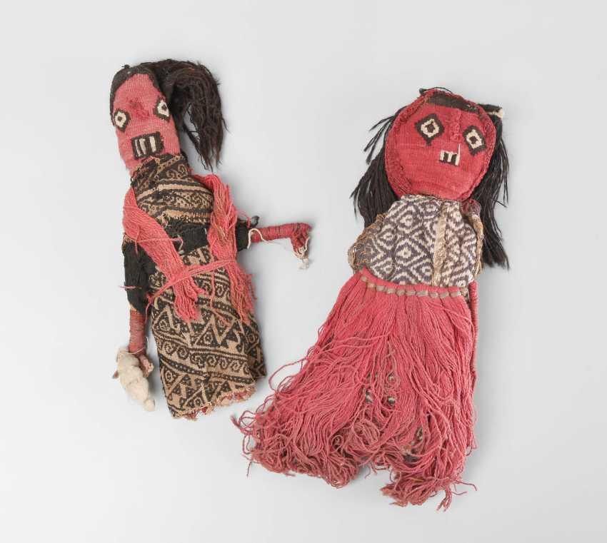 2 cloth dolls - photo 1