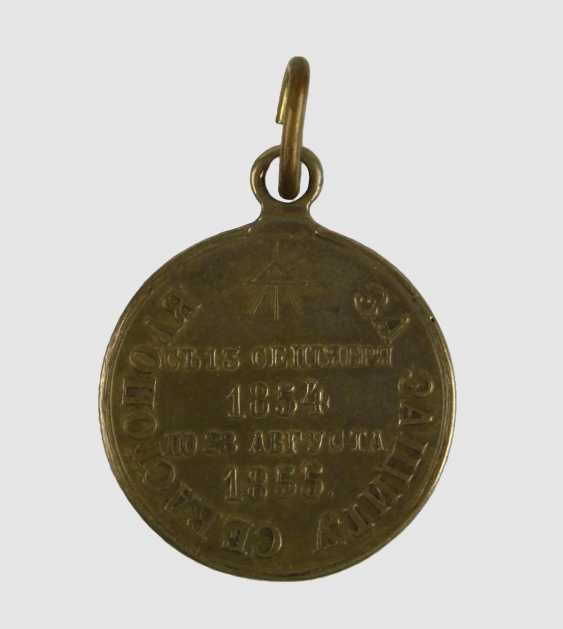 Medaille Sewastopol 1854/55, - photo 3