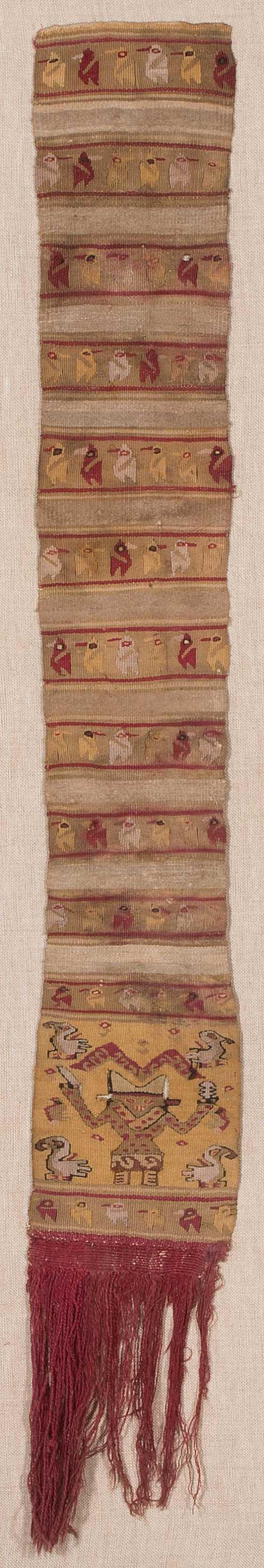 2 textile fragments - photo 1
