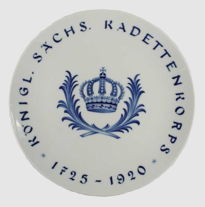 Meissen Commemorative Plate - photo 1