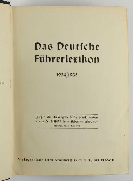 The German Leader Lexicon, - photo 5