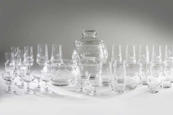 Great glasses and punch bowl set - photo 1