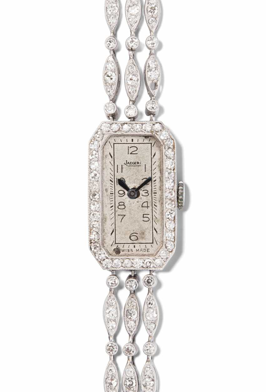 Jaeger LeCoultre Diamant-Damenarmbanduhr - photo 1