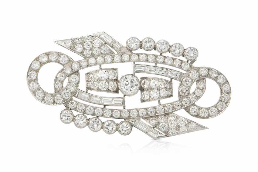 Diamant-Brosche - photo 1