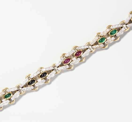 Pomellato Colored Stone And Diamond Bracelet - photo 1