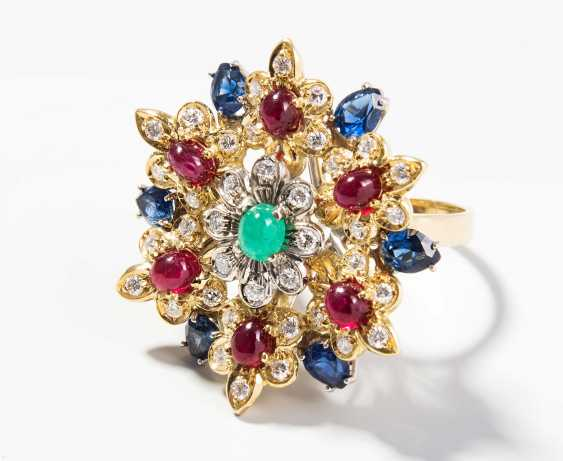 Brilliant-Color-Gemstone-Ring - photo 1