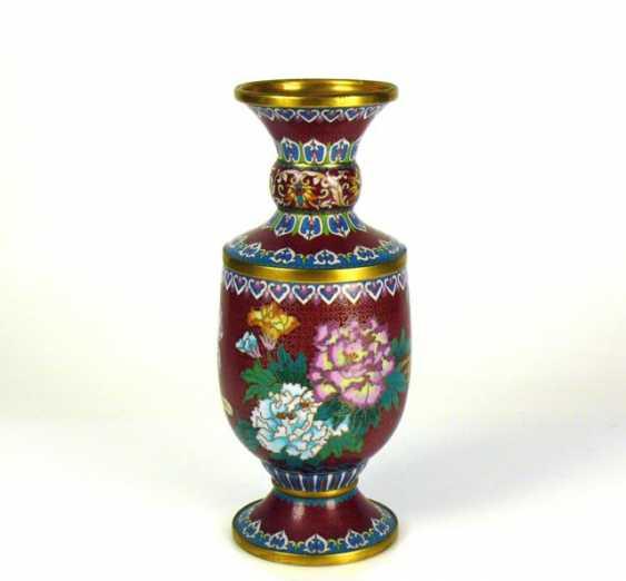 Cloisonne-Vase - photo 1