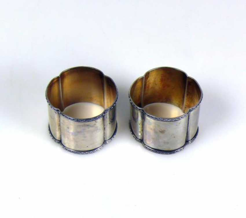 Pair Of Napkin Rings - photo 1